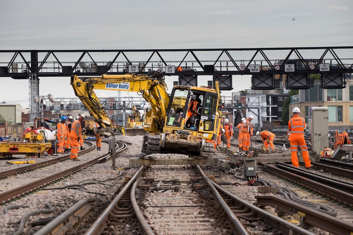Rail network in Sussex will be open for business this Christmas and New Year: LBG-preparing to lay new track