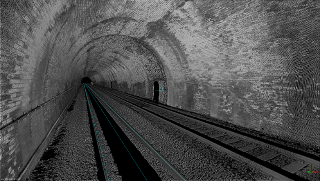 Three-dimensional scan system puts new train fleets on track: 3 Aug ATG tunnel
