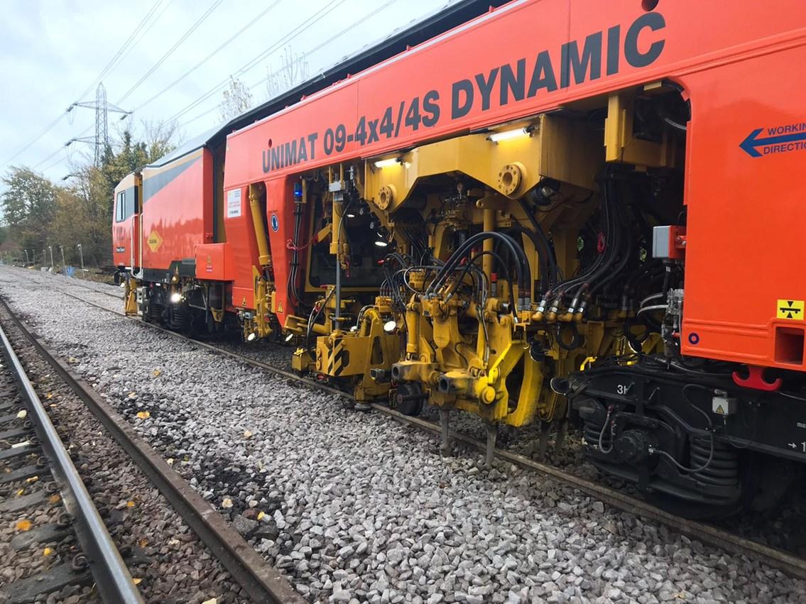 Ballast train 2