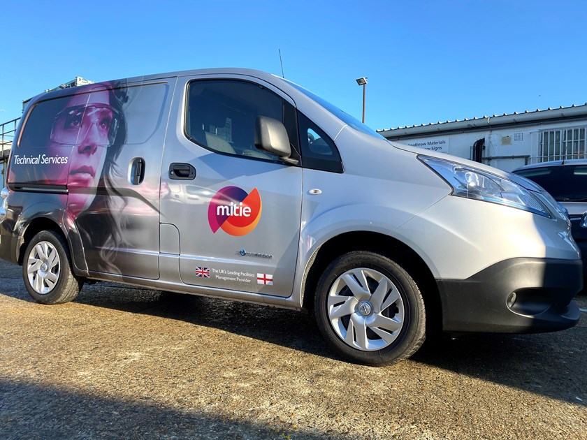 Mitie's 250th electric vehicle: Mitie has taken delivery of its 250th electric vehicle. The electric van will be based at Heathrow Airport.