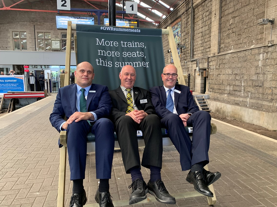 Passengers in the South West to benefit from thousands of extra seats as new services introduced between Plymouth and Penzance: GWR Summer Seats at Penzance