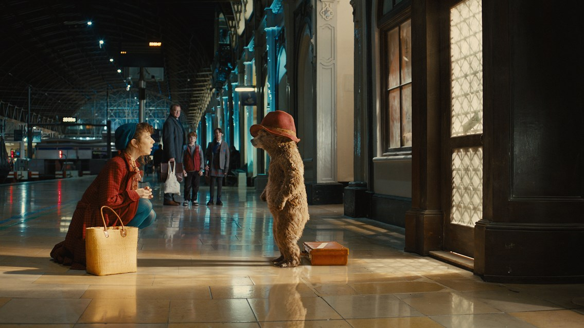 Commercial filming and photography: Paddington Bear film