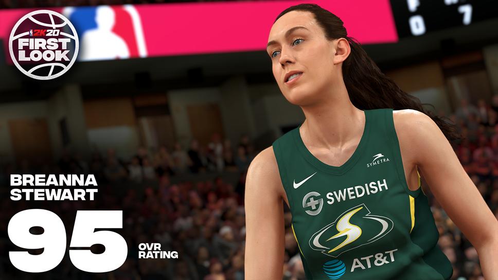 Next-up in NBA® 2K20: Make Way for the WNBA: NBA2K20 Breanna Stewart