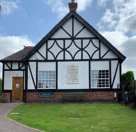 HS2 Community Fund awards £75,000 to the Longdon Club and Institute in Staffordshire: Longdon Village Hall benefits from CEF funding October 2020