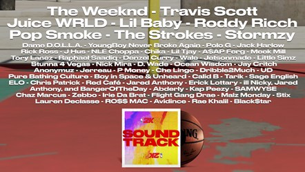 NBA 2K21 Soundtrack Artists