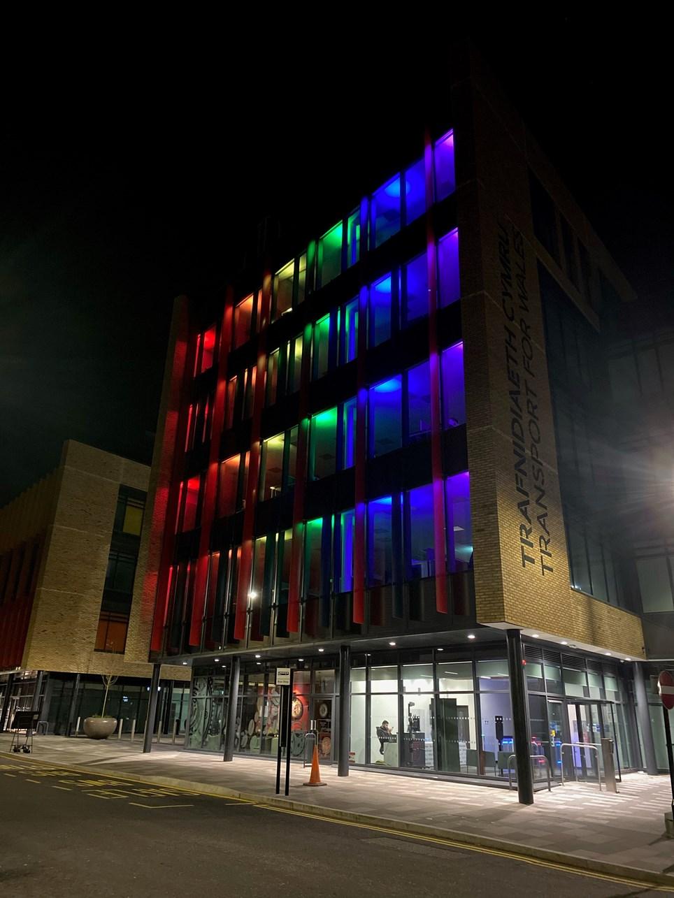 LGBT light up