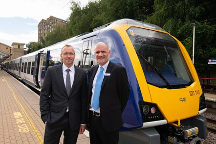 Northern launches first new train for Bradford, Skipton and Ilkley: Bradford FS 1