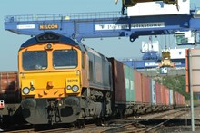 Rail freight at Port of Felixstowe: Rail freight at Port of Felixstowe