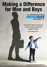 International mens day 2020 - difference for men and boys