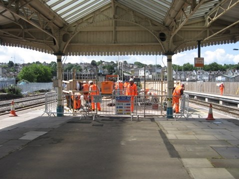 Passengers are not disrupted by improvement work