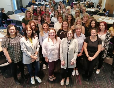 New start for over 40 early years staff at Council nurseries: New Moray Council ELC staff 2019