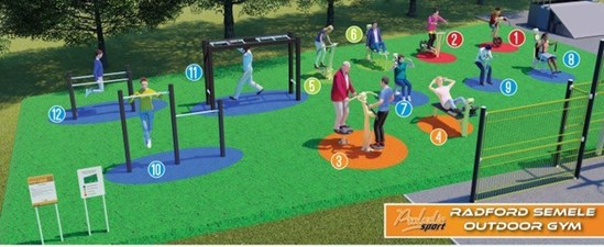 Radford Semele Parish Council's outdoor gym project receives HS2 community funding: Radford Semele outdoor gym