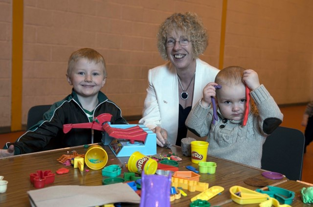 Strengthening Communties Programme: Housing Minister Margaret Burgess visits Glenboig's GNH Life Centre to announce £3m fund to be distributed amongst up to 50 community-led organisations, including the GNH Life Centre.