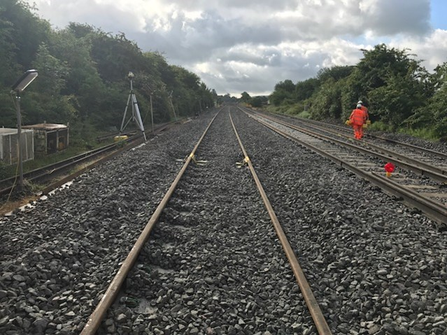 Electrification a step closer after successful railway upgrade in Wiltshire: RWB track lowering
