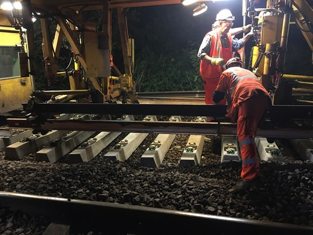 Network Rail completes track renewal programme in Yorkshire: TRS completes programme in Yorkshire