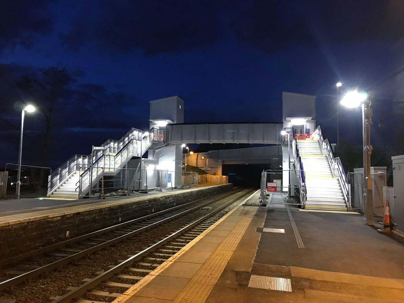 Investment in West Calder gives station accessibility a lift: IMG 4530