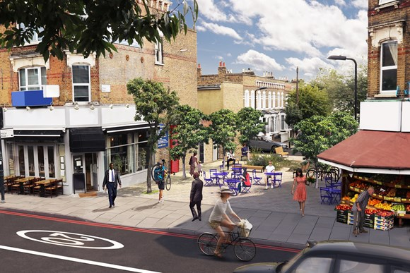 TfL Image - Improvements to Stoke Newington High Street 3