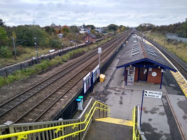 Progress towards step-free access at Thirsk station: Thirsk station, photo credit: TransPennine Express