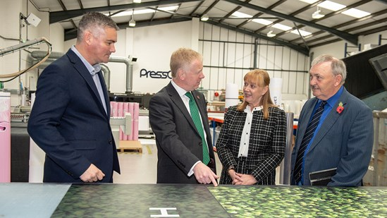 Businesses in Kent already benefiting from HS2 contracts: CEO visit to PressOn Ltd