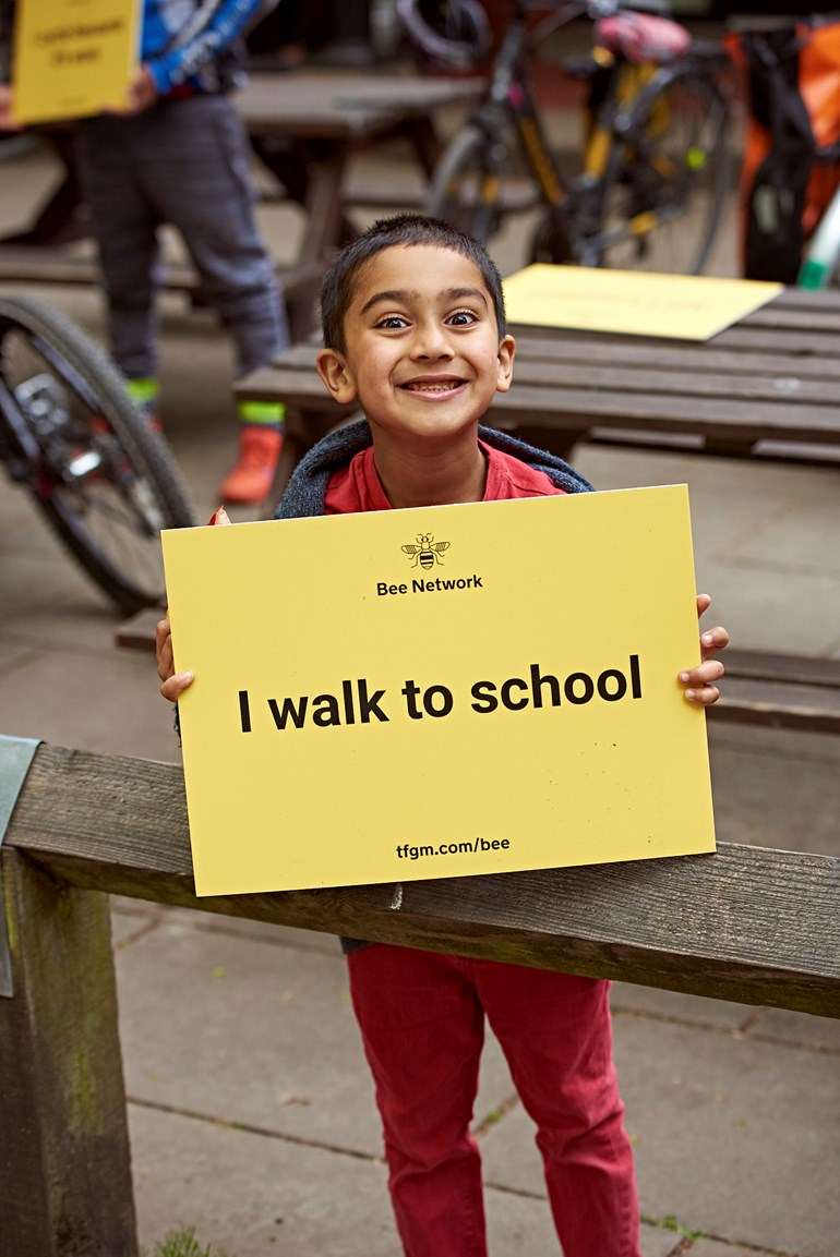 TfGM urges parents and pupils to check travel advice, plan ahead and cycle or walk to school where possible in September
