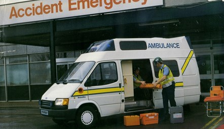 Bill Mason 1989 ambulance