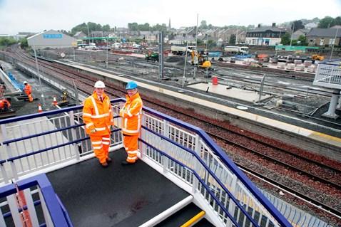 Bathgate Station site visit _2