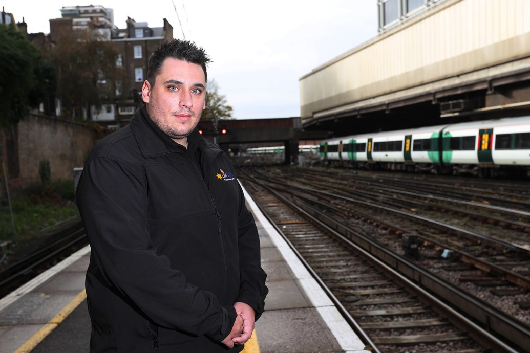 South East rail passengers urged: Make Small Talk and Save a Life: Antony Warne, of Land Sheriffs, who has intervened in potential suicides on the railway