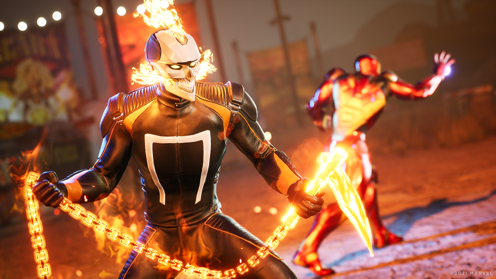 Marvel's Midnight Suns - Ghost Rider - Fire with Hellfire