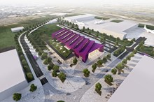 HLM Architects - NMIS Aerial View