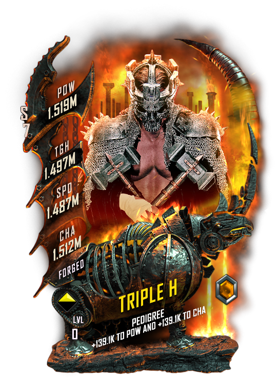 WWESC S7 Triple H Forged