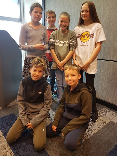 Kids from Ashington to Stuttgart set for day of tech and teamwork at NHSBSA: Ash and Euro kids -Kids from Bothal Primary School