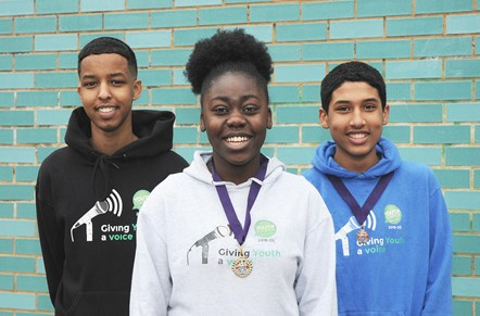 Islington elects new Young Mayor, Deputy Young Mayor and Member for Youth Parliament: Member of Youth Parliament Abubakar Finiin, Young Mayor Lydia Banjo and Deputy Young Mayor Arkan Ali Akiil