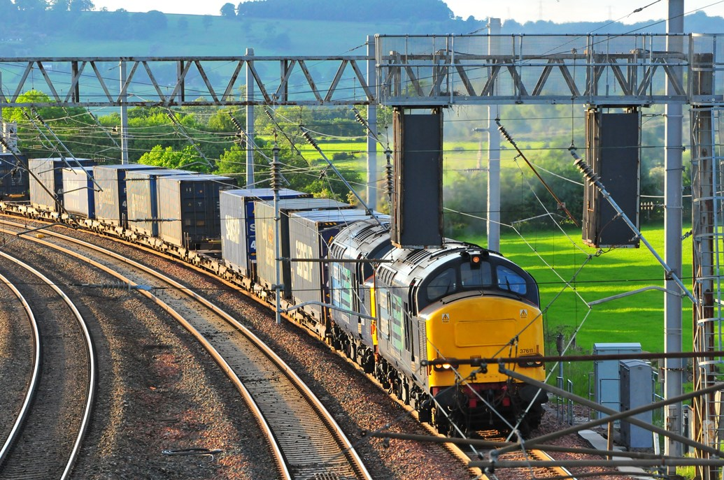 Network Rail creates 'virtual route' to provide better service for freight and national passengers operators: Rail freight produces 76% less CO2 than road haulage per tonne of goods carried