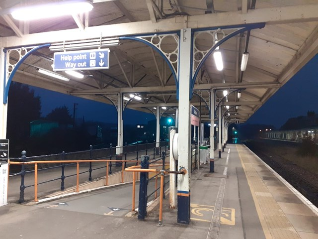 Brighter and greener stations being delivered in Hampshire and Surrey: Andover Station Rewire Relight