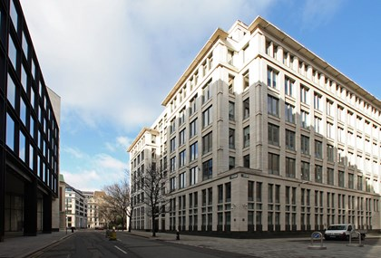 SCI partners with Siemens to complete the retrofit of Garrard House in the City of London: garrard-house 03