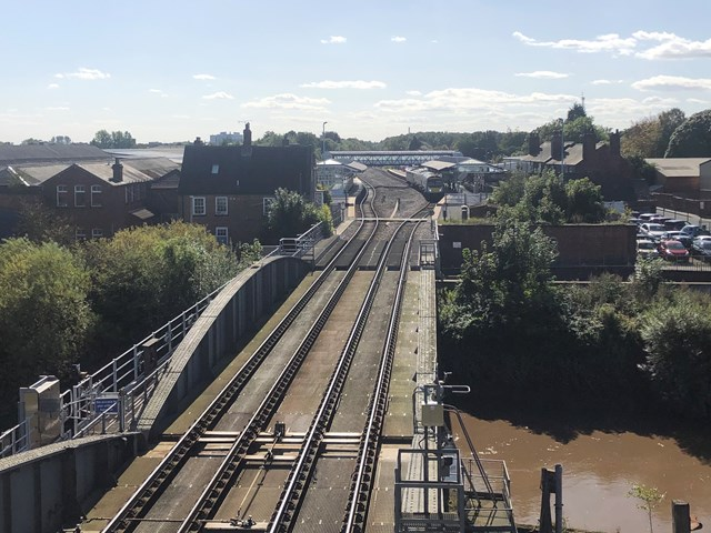 Grade II listed swing bridge in Selby to remain in railway position this week as high temperatures forecast: Grade II listed swing bridge in Selby to remain in railway position this week as high temperatures forecast
