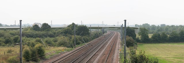 £60M+ EAST COAST RAIL LINK PLANS SUBMITTED: Hitchin Cambridge Junction