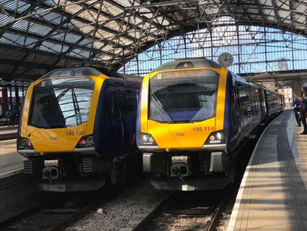 New trains at Lime Street 4