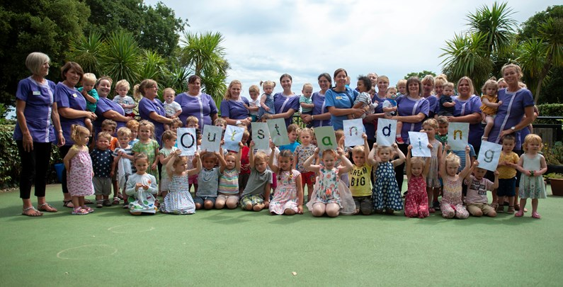 Saga's Apples Nursery receives 'Outstanding' Ofsted report for second time running: Apples outstanding image July 2019