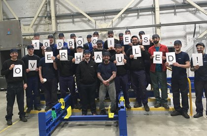 100th bogie completed at new Siemens Bogie Service Centre: 100th-Bogie