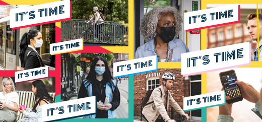 It's time campaign graphic