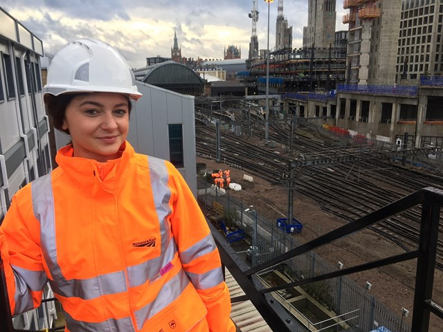 Hundreds of Network Rail staff work on King's Cross project over Christmas period: Hundreds of Network Rail staff work on the King's Cross remodelling project over the Christmas period