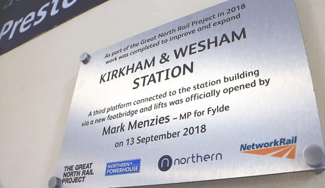 Kirkham & Wesham Station Opening