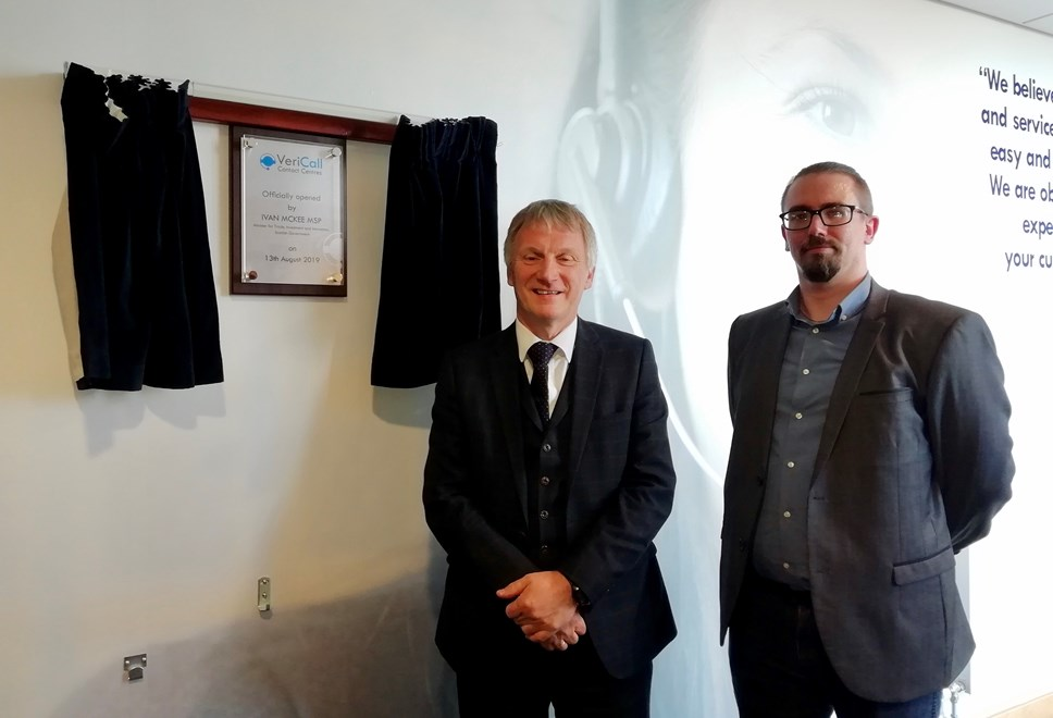 VeriCall Receives Ministerial Seal of Approval at Formal Opening Ceremony: VeriCall Plaque I