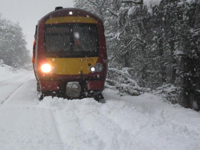 Snow covered railway (6)