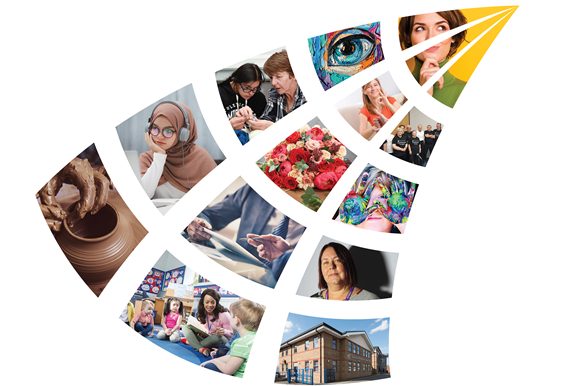 LECB ready to welcome new learners: LECB LOGO MONTAGE