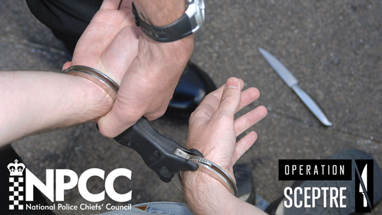 Police forces encouraged to increase stop and search in a week long operation against knife crime: Twitter Image 5