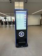 TfL Image - Next train information screen at Ealing Broadway station