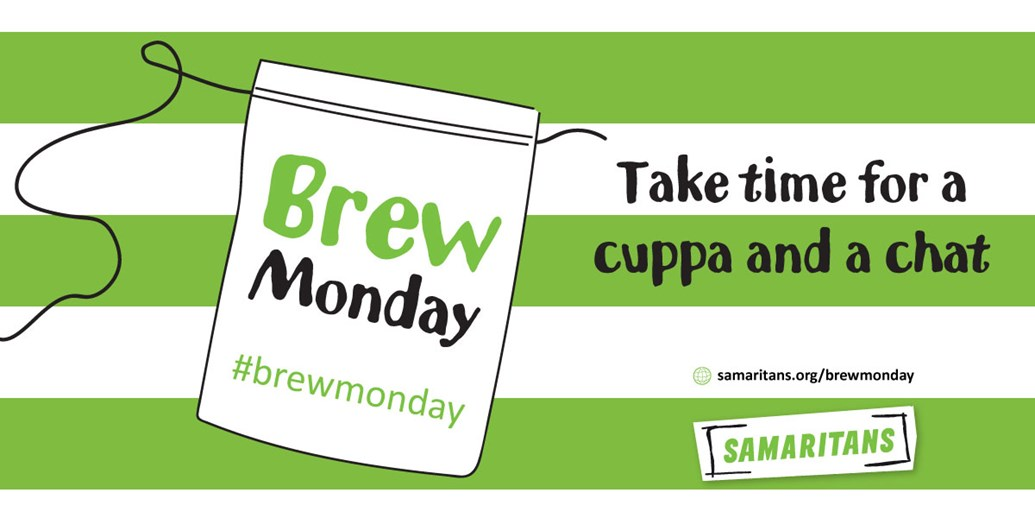 Join Samaritans And Celebrity Friends For A Brew Monday