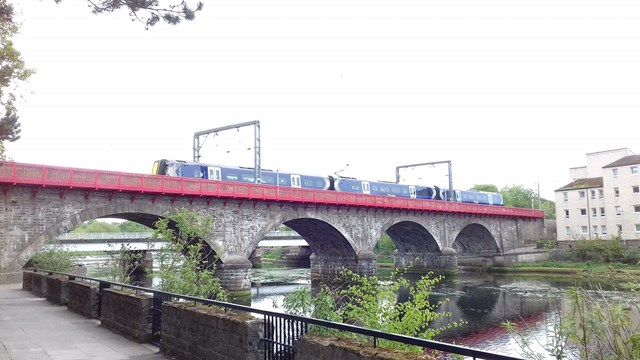 Network Rail completes £1m Ayr viaduct refurbishment: Comp-81